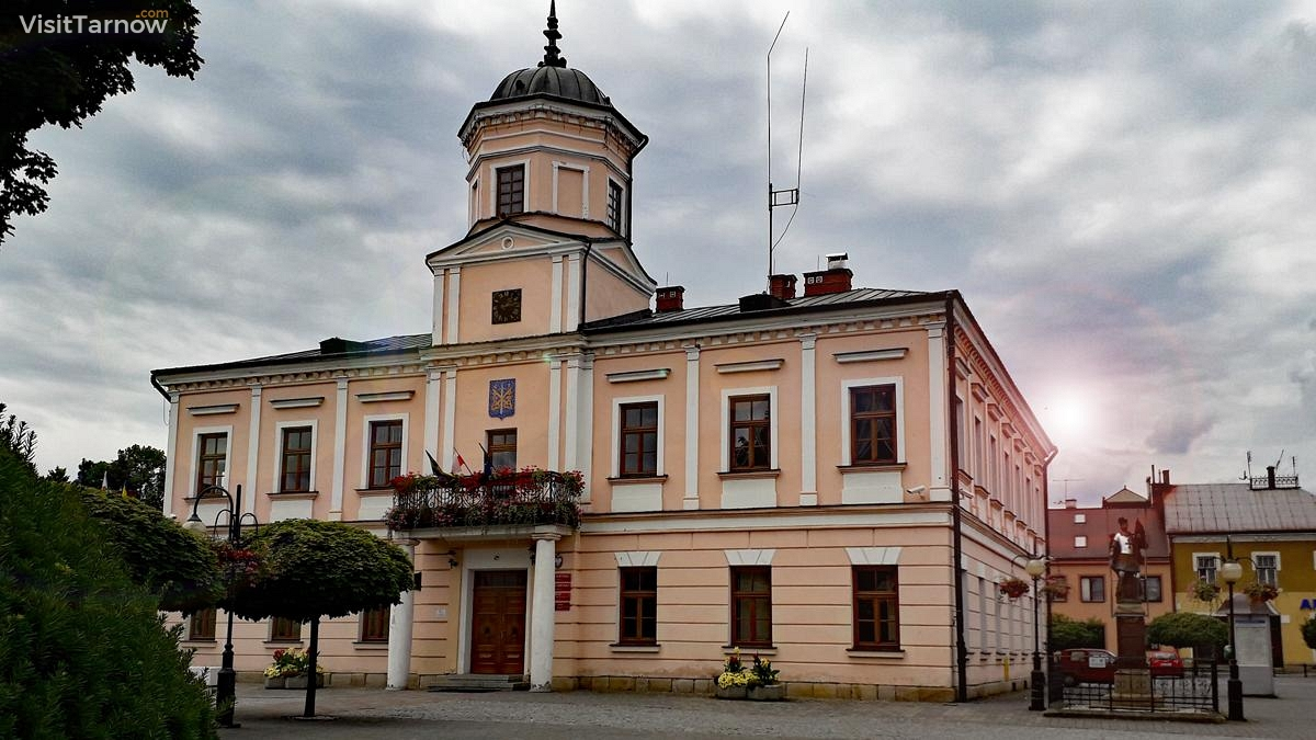 Town Hall in Tuchów