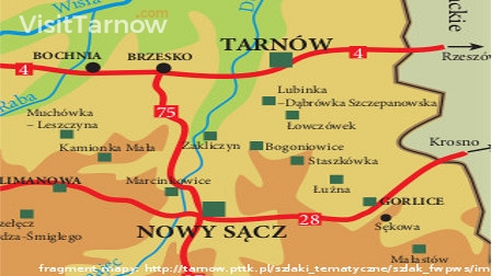 War Cemeteries in Tarnów and Gorlice region.